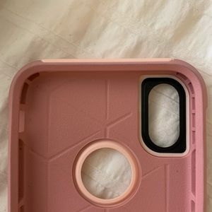 OtterBox Accessories - Pink iPhone XS otter box case